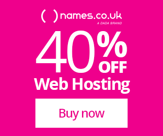40% Off Web Hosting