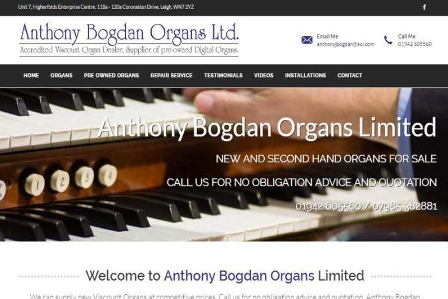 Anthony Bogdan Organs